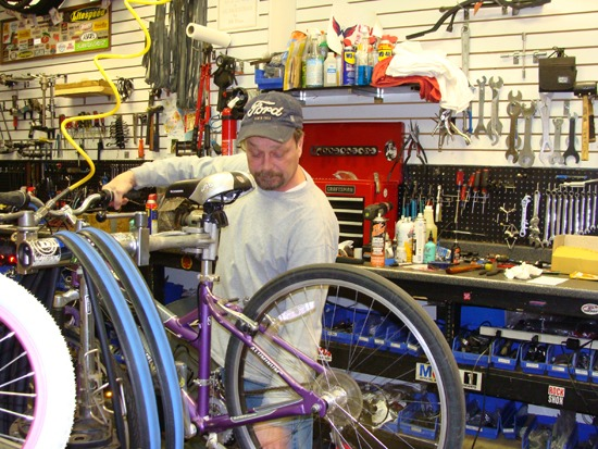 jeff repair bike